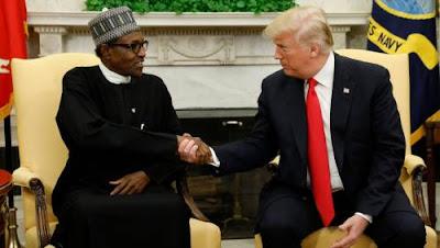 US President Donald Trump and Muhammadu Buhari Again