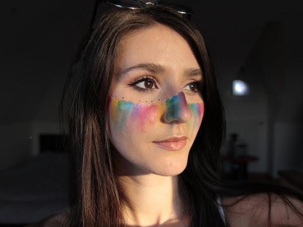 Maquillage Gay Pride