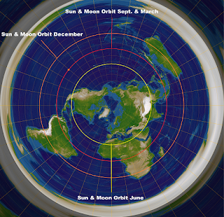 Arctic Midnight Sun Proves Flat Earth Sun-MoonSmall