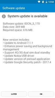 Android 7.1.1 Nougat update Starts Hitting Nokia 6