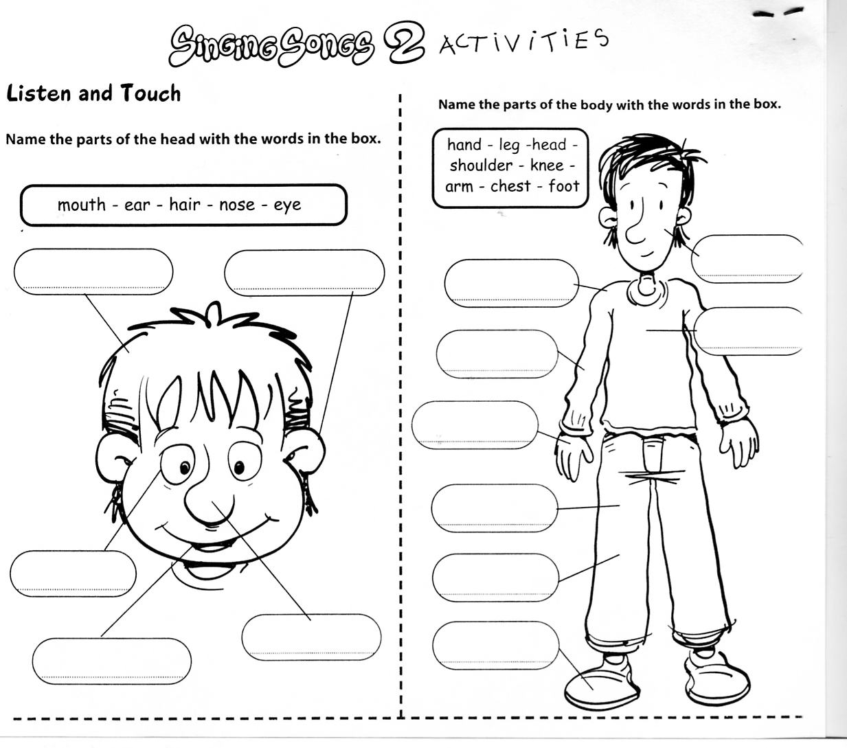 English Bud S Esl Worksheet Body Parts