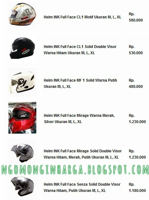 Helm INK Full Face