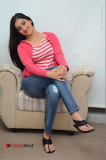 Telugu Actress Mouryani Latest Pos in Blue Denim Jeans  0094.JPG