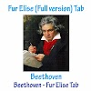 Beethoven - Fur Elise (Full version) Tab - Beethoven Free Guitar Tabs/ Fur Elise Free Sheet Music