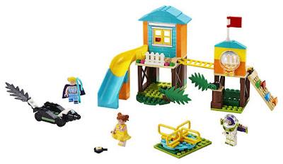 LEGO 4+ : Toy Story 4 10768  Aventura en el Parque de Juegos de Buzz y Bo Peep   Buzz & Bo Peep's Playground Adventure     Producto Oficial Película 2019   Piezas: 139   Edad: +4 años  COMPRAR ESTE JUGUETE