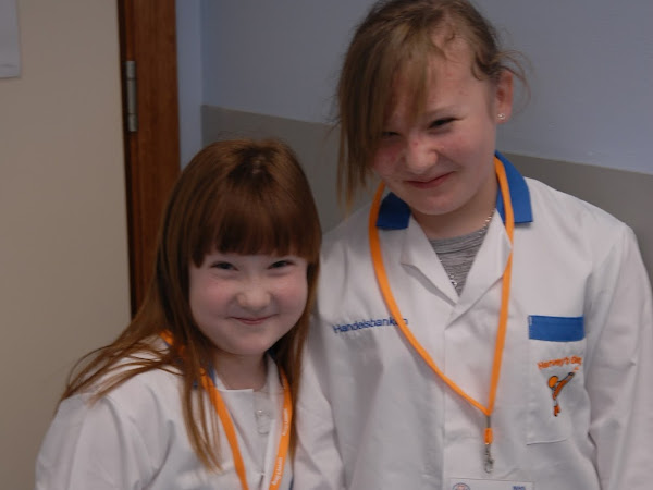 Leah (and her sister Kayleigh join Harvey's gang in Ninewells, Dundee