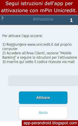 App Android App Banca Unicredit Mpin Cosè