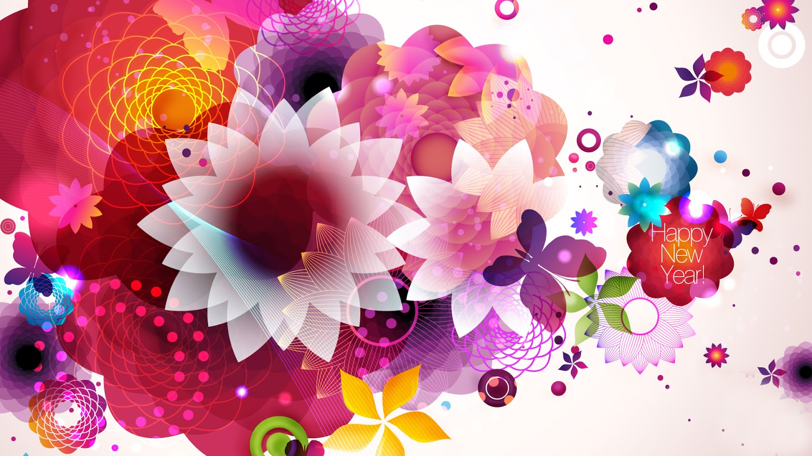 flower new year wallpapers
