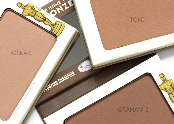 TheBalm Take Home The Bronze Anti-Orange Bronzers Review Toni Oskar Graham E.