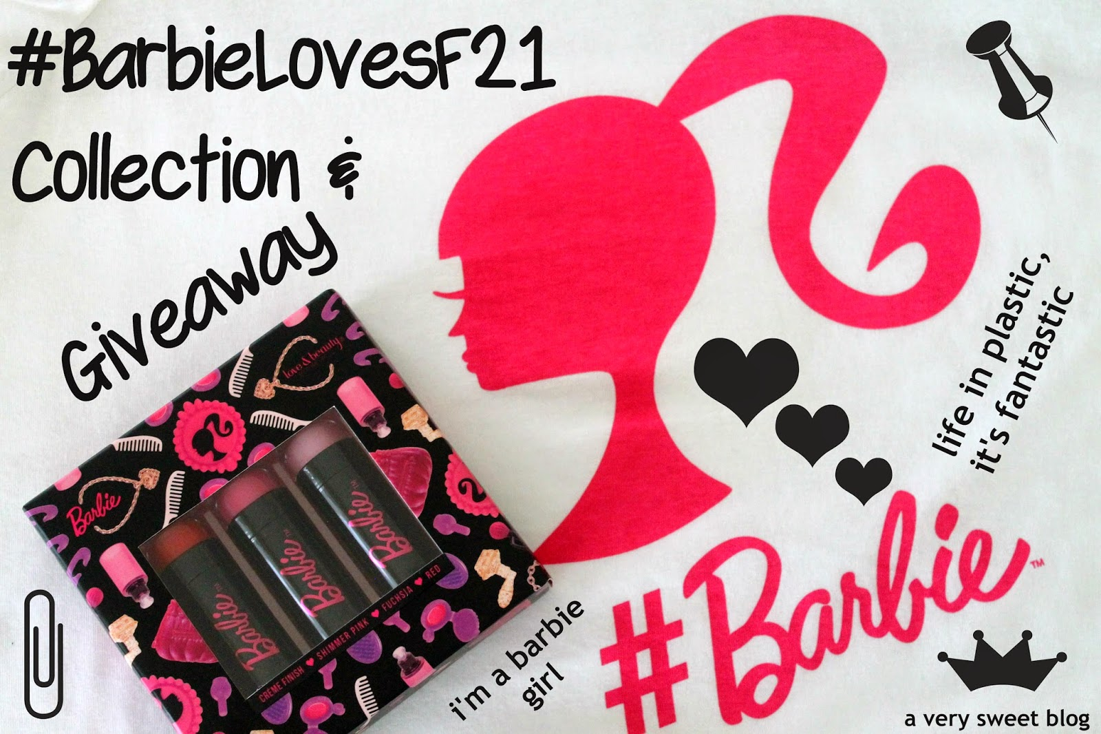 Forever 21 X Barbie collection, Of coz I bought it, what can