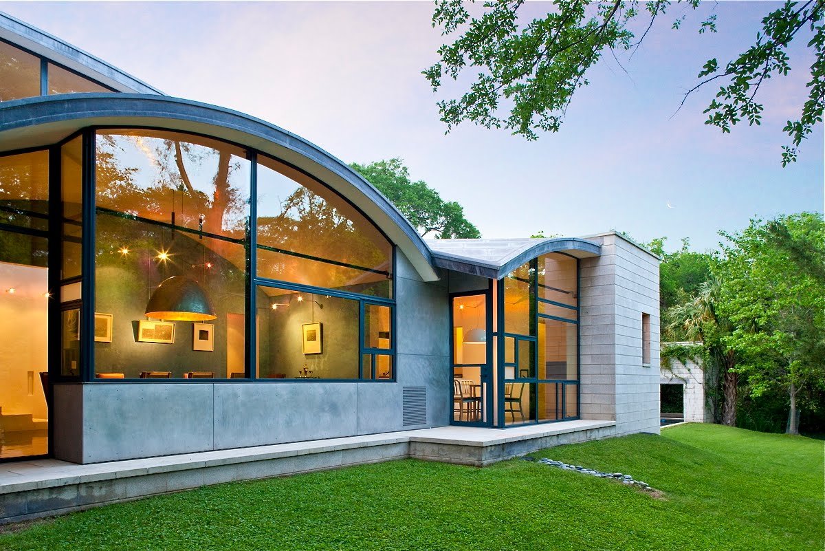 Adobe Style House Plans Houses Gardens People Dallas Modern Homes Tour