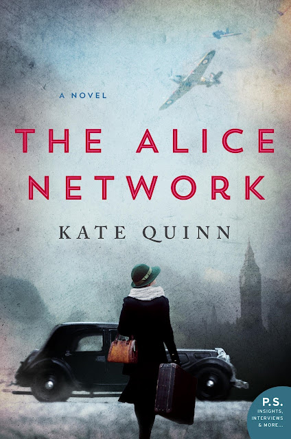 Cover Reveal: The Alice Network by Kate Quinn