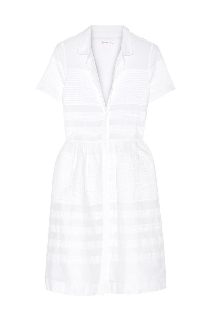 Spring/Summer 2016 must have little white dress by Chinti & Parker via www.fashionedbylove.co.uk