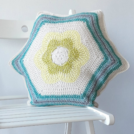 Bursting Bloom Pillow
