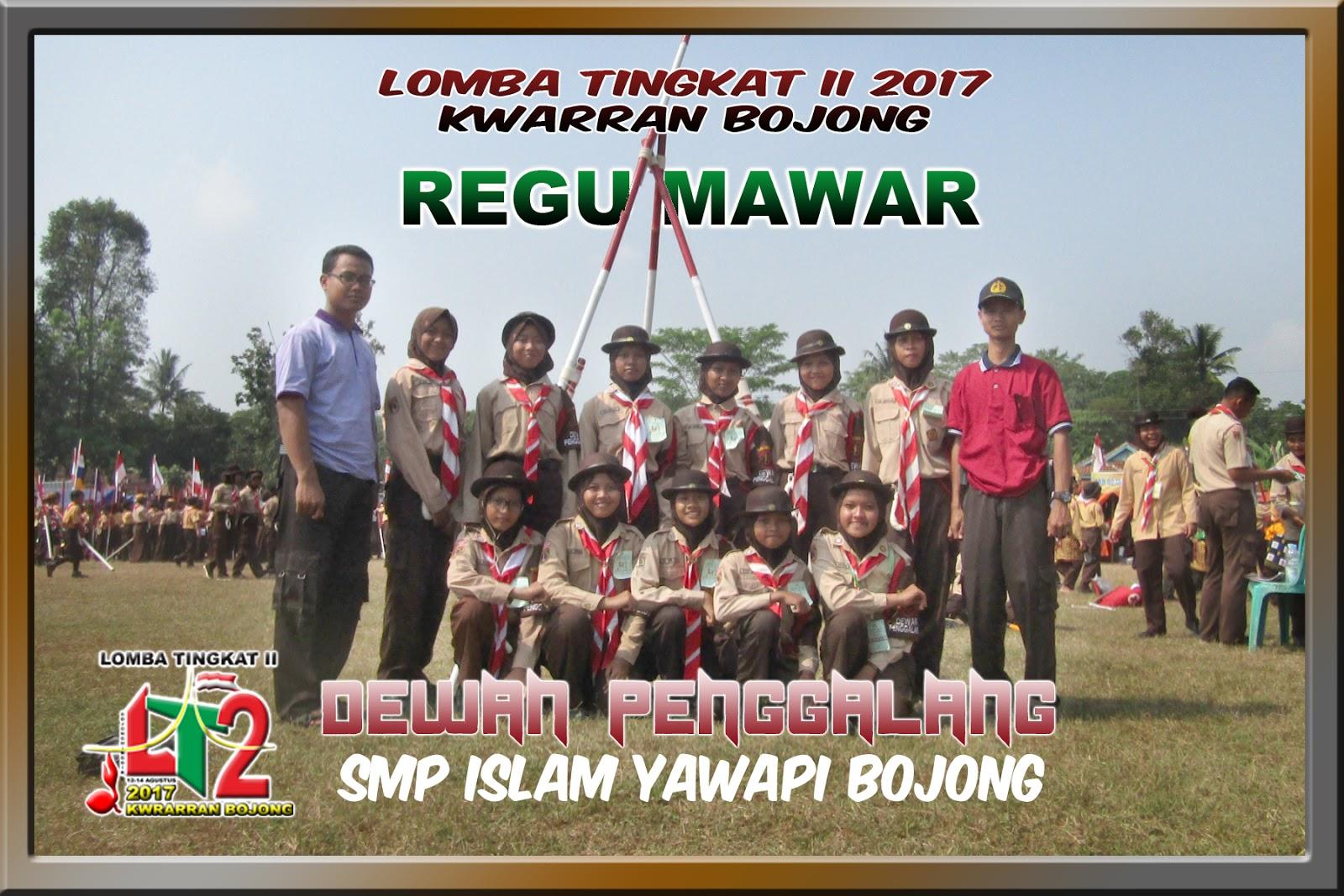 Januari 2018 Dewan Penggalang Smp Islam Yawapi Bojong Aneka Badge Regu Pramuka Tiap Jenis Kegiatan Diambil Tiga Putra Dan Putri Terbaik Sebagai Peraih Tergiat I Ii Iii