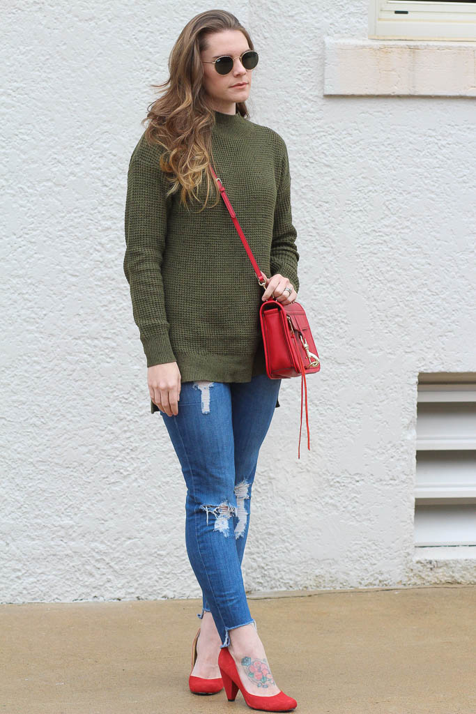 Easy sweater outfits for fall/winter