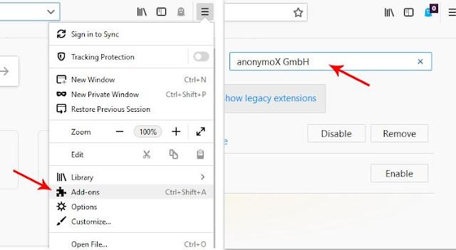 Cara Buka Internet Positif di Mozilla Firefox