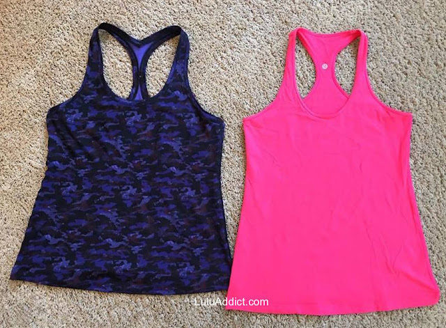 lululemon comparison cool-racerback-I-vs-II hounds-camo