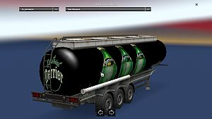 Perrier trailer cistern standalone
