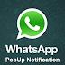 Pengertian Notifikasi Popup di WhatsApp dan Pengaturannya
