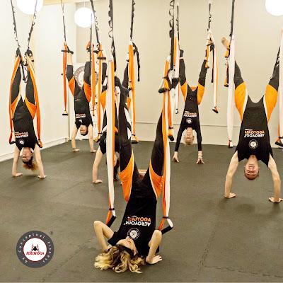 yoga aereo barcelona