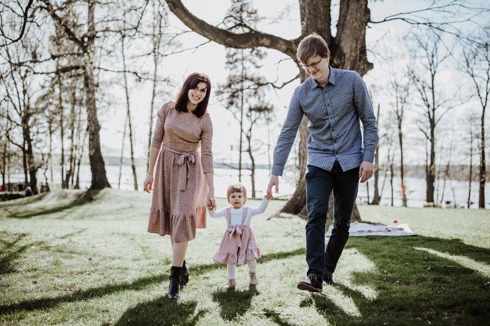 Wiosenna sesja rodzinna