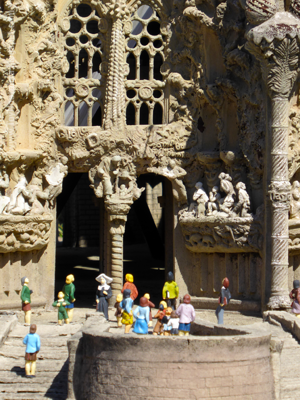 La Sagrada Familia, Antoni Gaudí - Barcelona Cataluña en Miniatura - Catalonia Miniature