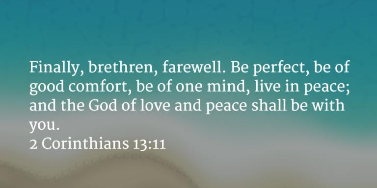 Prayer Pointers: 2 Corinthians...