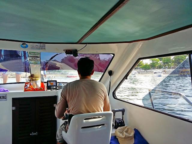 катер на Нуса Пенида с Бали