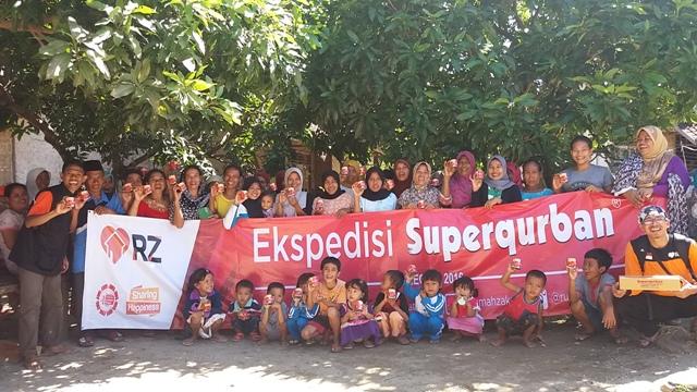 Expedisi Superqurban 2016 di Ujung Kulon Pandeglang Banten