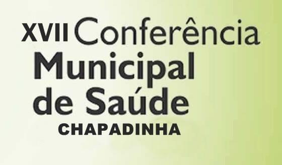 Chapadinha sedia 17ª Conferência Municipal de Saúde, no dia 25 agosto.