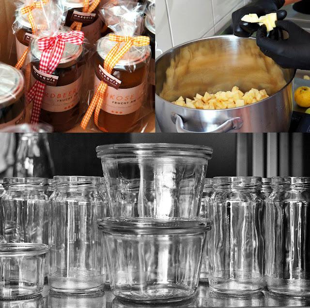 Marmeladenproduktion in der Manufaktur Marquis - Feines zum Leben von Jeanette Marquis