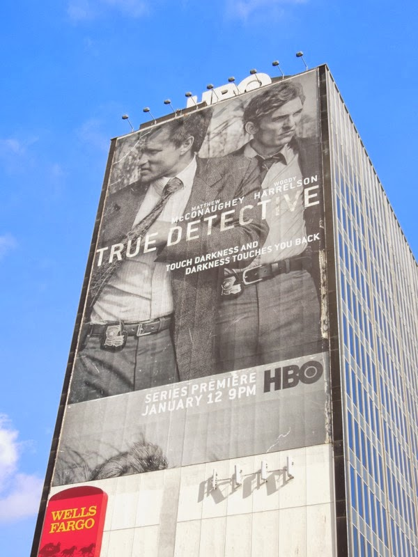 Giant True Detective HBO billboard