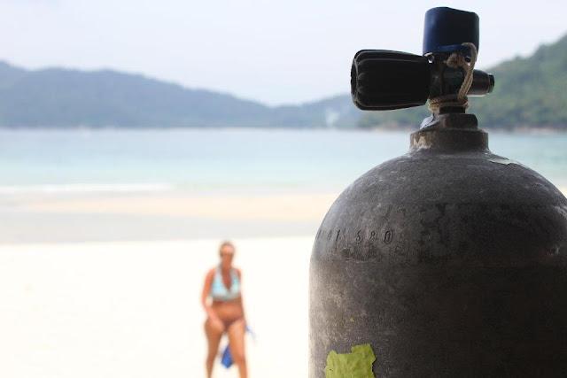 Visitar PERHENTIAN e tirar um curso de mergulho PADI | Malásia