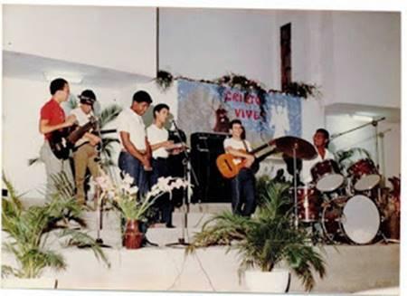 Banda de musica gospel Novo Som