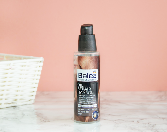 Empties #12 Balea Oil Repair Haaröl