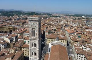 Piazza dei Duomo desde la cúpula de Brunelleschi.