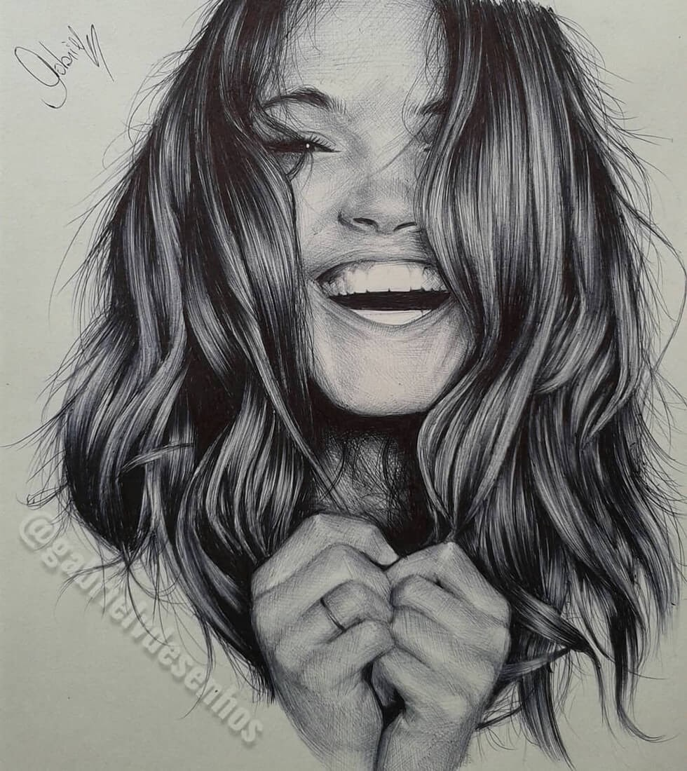 05-Overwhelming-Joy-Gabriel-Vinícius-Ballpoint-Pen-Portraits-with-very-Different-Expressions-www-designstack-co