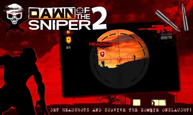 dawn of the sniper 2 hile apk indir
