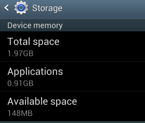 "Mengatasi masalah ""Storage Space Running Out"" pada Android"
