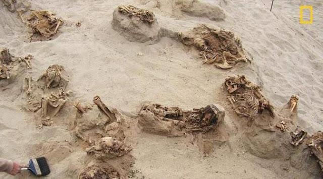 140 Jasad Bocah Ditemukan di Gurun Peru, Tumbal Ritual Pengorbanan Manusia