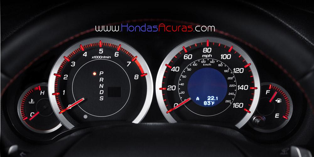 Acura Tsx Interior Special Edition Gauge Cluster Speedometer