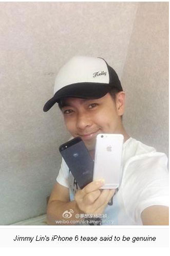 Apple Hongkong: iPhone 6 di Jimmy Lin Itu Asli!