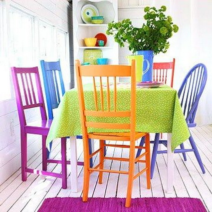 Dining Rooms With Mixed Chairs 6