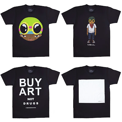 The Hebru Brantley Art Basel Miami 2016 T-Shirt Collection