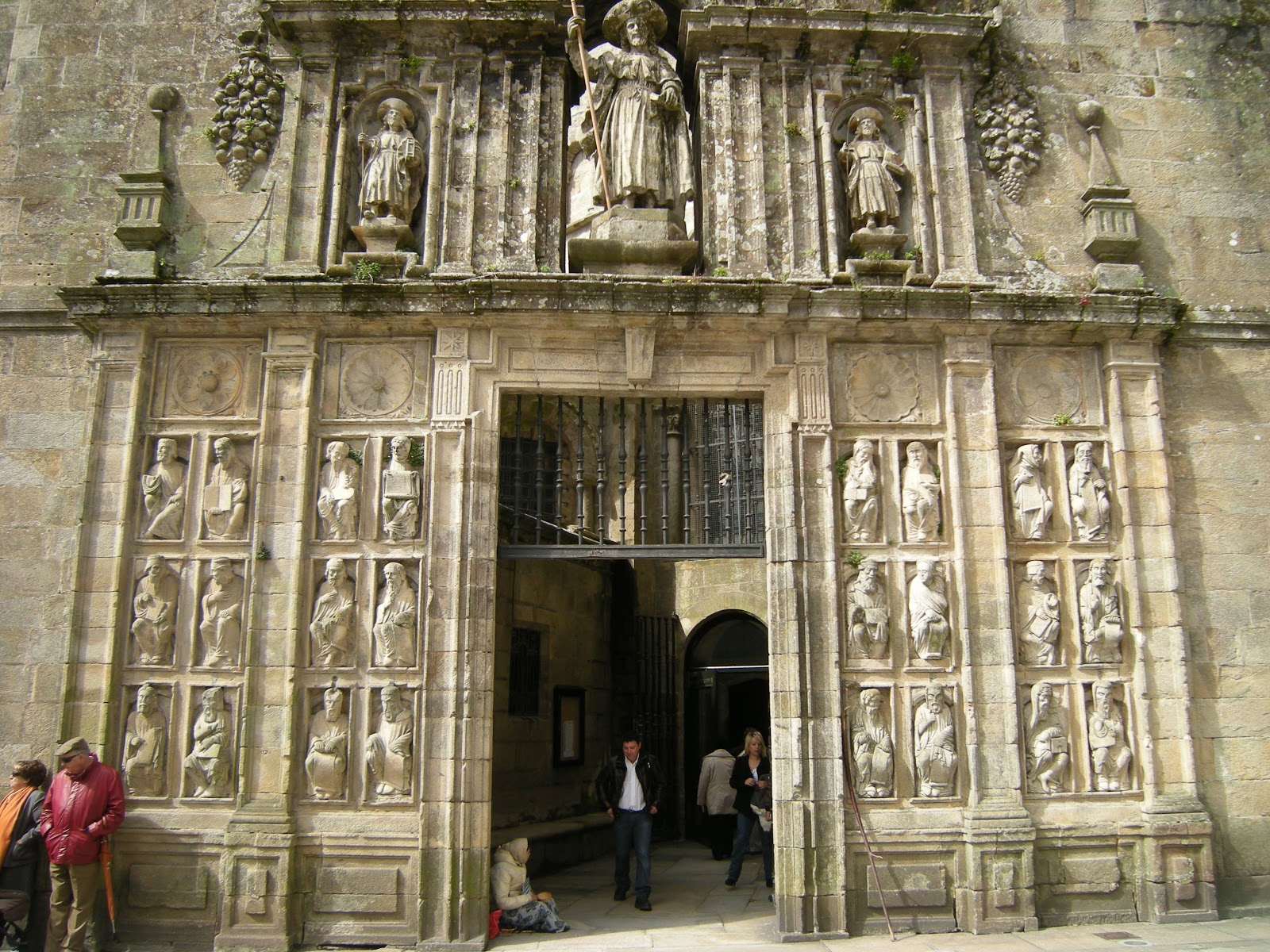 Puerta Santa or Holy Door is only opened during Jubilee Years. Photo: © José Antonio Gil Martínez.