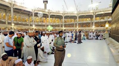 polisi keamanan di masjidil haram