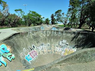 Rampas de Skate - Túnel e Poço, Parque Marinha do Brasil