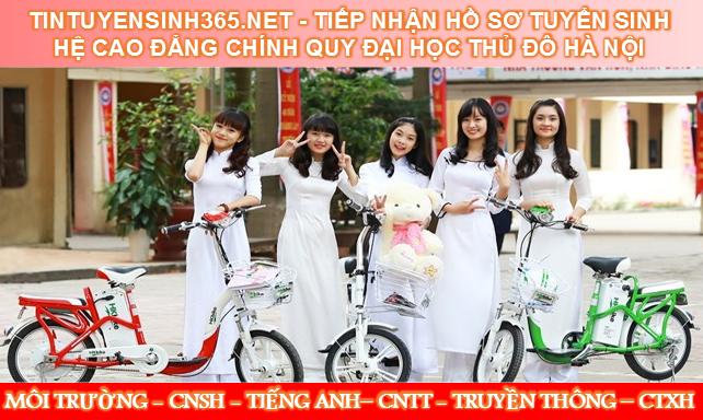 Xét tuyển hệ Cao đẳng chính quy Đại học Thủ đô Hà Nội