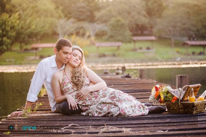 e-session - ensaio de noivos - ensaio - coroa de flores - piquenique